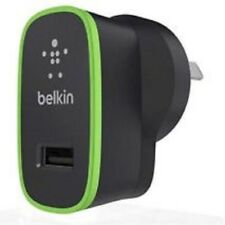 BELKIN BOOST IT UP 2.4A HOME CHARGER BLACK - 12 WATT - 2.4 A(USB (POWER ONLY))