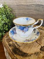 Royal Albert Moonlight Rose Tea Cup and Saucer Set Bone China Made in England