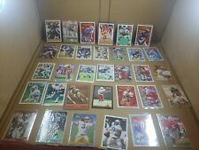 Football lot over 33 cards in plastic.v5