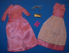Vintage Francie Doll PROM PINKS Sears Exclusive Evening & Coat 1967 RARE