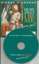 SINEAD O'CONNOR How About I Be Me RARE CARD SLEEVE EUROPE PROMO CD USA Seller