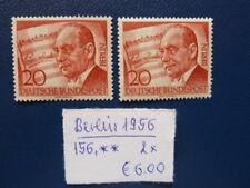 Berlin 1956, 10. Todestag von Paul Lincke, Michel 156, **, 2 x