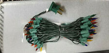 Bethlehem Multi w Green Cord Craft Christmas Mini Lights 50 Light string 047901S