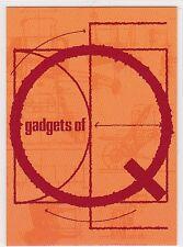JAMES BOND GOLDENEYE GADGETS OF Q INSERT CARD Q5 PITON GUN