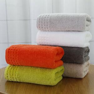 34x75cm 100% Cotton Solid Color Soft Water Absorbing Women Men's Hand Towel