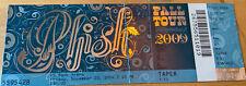 2009 Phish Concert Ticket PTBM Taper US Bank Arena Cincinnati 11/20 Full Stub