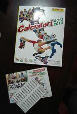 FIGURINE CALCIATORI PANINI 2012/13 COMPLETO con AGGIORNAM e FILM campionato