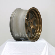 4 ROTA WHEEL GRID V 16X8 4X100 20 FRSB MR2 MIATA CIVIC XA XB