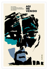 Spanish movie Poster 4 film Asi he VENIDO.Modern art.Contemporary graphic decor