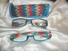 Reading Glasses-Blue Zig Zag  2.50