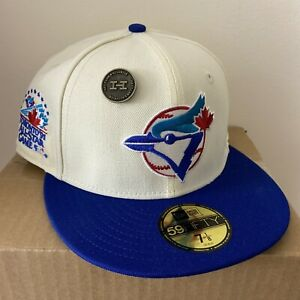 Hat Club Exclusive Toronto Blue Jays ASG White Dome New Era Fitted Size 7 1/8