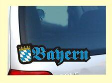 Bayern Freistaat Bairisch Bajuwaren - Spruch Fun Sticker Auto Aufkleber Nr. 7637