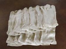 Cotton Work Glove Liners 12 pair