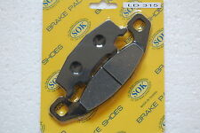 FRONT BRAKE PADS fits KAWASAKI ZL 400 600 Eliminator 1994-97' ZL400 ZL600 95 96