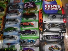 30 LOT HOT WHEELS EASTER Eggsclusives FRIGHT CLOVER HOLIDAY HOT RODS NOVA IMPALA