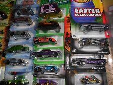 30 Lot Hot Wheels Easter Eggsclusives Fright Clover Holiday Hot Rods Nova Impala