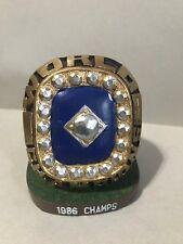 1986 World Champions Ring Statue