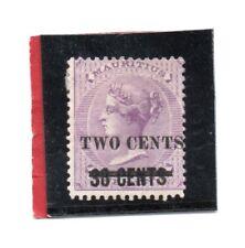Mauritius Vic. 1891 surch o/print 2c on 38c sg 120 HH.Mint. cat. £16
