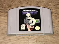 Star Wars Shadows of the Empire Nintendo 64 N64 Cleaned Tested Authentic