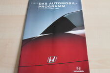 115039) Honda Prelude - CRX - NSX - Legend Prospekt 09/1994