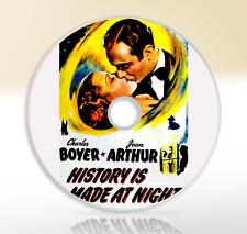 History Is Made At Night (1937) DVD Classic Drama Movie / Film Jean Arthur