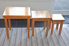 John Lewis Oak Nested Tables