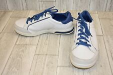 Skechers Go Golf Drive 2 Sneaker - Men's Size 10(EW) White/Blue