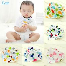 Baby Bibs Burp Cloths High Quality Double Layers Cotton