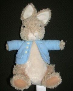 "GUND Peter Rabbit Plush Stuffed Toy 9"" Beatrix Potter 4061032"