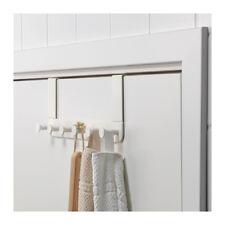 IKEA ENUDDEN Over Door 6 Hooks Hanger Knobs White Clothes Bags Coats Pup10
