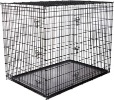 New ListingFrisco Xx-Large Heavy Duty Double Door Wire Dog Crate 54inh