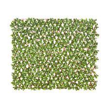 Sichtschutzwand Künstliche Hecke Sichtschutzhecke Wanddekoration Blätter Pflanze