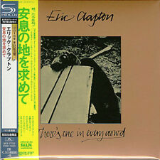 ERIC CLAPTON-THERE'S ONE IN EVERY CROWD-JAPAN MINI LP SHM-CD Ltd/Ed F81