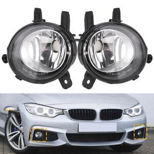 FOR BMW 12-15 F30 F31 F34 3 SERIES SEDAN REPLACEMENT BUMPER FOG LIGHTS PAIR SET