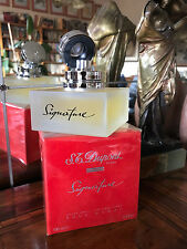 Rare! Signature By S. T. Dupont 100 ml After Shave Discontinued Vintage