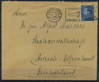Belgio 1936 Busta 100% ANTWERPEN