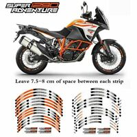 Motorcycle Front and Rear Wheels Sticker For 2017 KTM 1290 SUPER ADV R/S/T