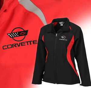 1984-1996 Corvette Women's Double Apex Jacket with Embroidered C4 Logo 698454