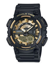 CASIO AEQ-110BW-9AVEF*AEQ-110BW-9A*WORLD TIME*CROMOMETRO*SUMERGIBLE*TIPO G-SHOCK