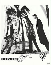 "BeeGees Autographed 8""x10"" B&W Photo Reprint"