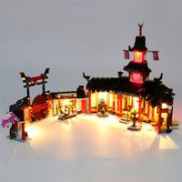 LED Licht Set Für 70670 LEGO Ninjago Monastery of Spinjitzu Kit (mit Anleitung)