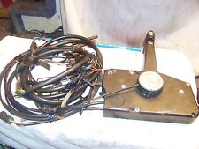 Johnson Evinrude OMC Systems Check Side mount Control Box w/ Cable & Tilt Trim