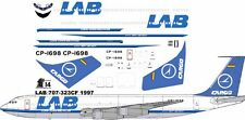 LAB Cargo Boeing 707-300F decals for Minicraft 1/144 kit