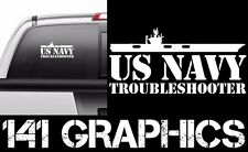 US Navy Troubleshooter Aircraft Carrier Flight Deck Crew Veteran Decal Sticker