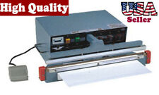 "14"" Impulse automatic Sealer 2 mm Heat Seal Plastic Bag Film Retail Packaging"