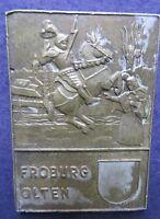 Vintage Metal token Medal Engraver PAUL kramer  FROBURG OLTEN  RARTS Swiss Made