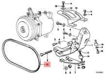 Genuine BMW E23 E32 E34 Sedan Air Con Compressor Belt OEM 64521722371