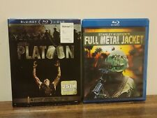 Full Metal Jacket & Platoon 25th Anniversary (Blu-Ray)