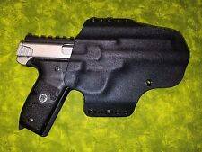 HOLSTER BLACK CARBON KYDEX FITS S&W SW22 Victory with top rail & red dot