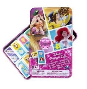 Disney Princess Dominoes Tin. Brand New Sealed